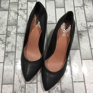 Vince Camuto Vickiy black heel pump shoes size 9.5